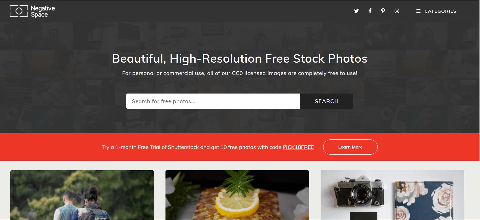 Top 20 des sites pour trouver des images libres de droit 93