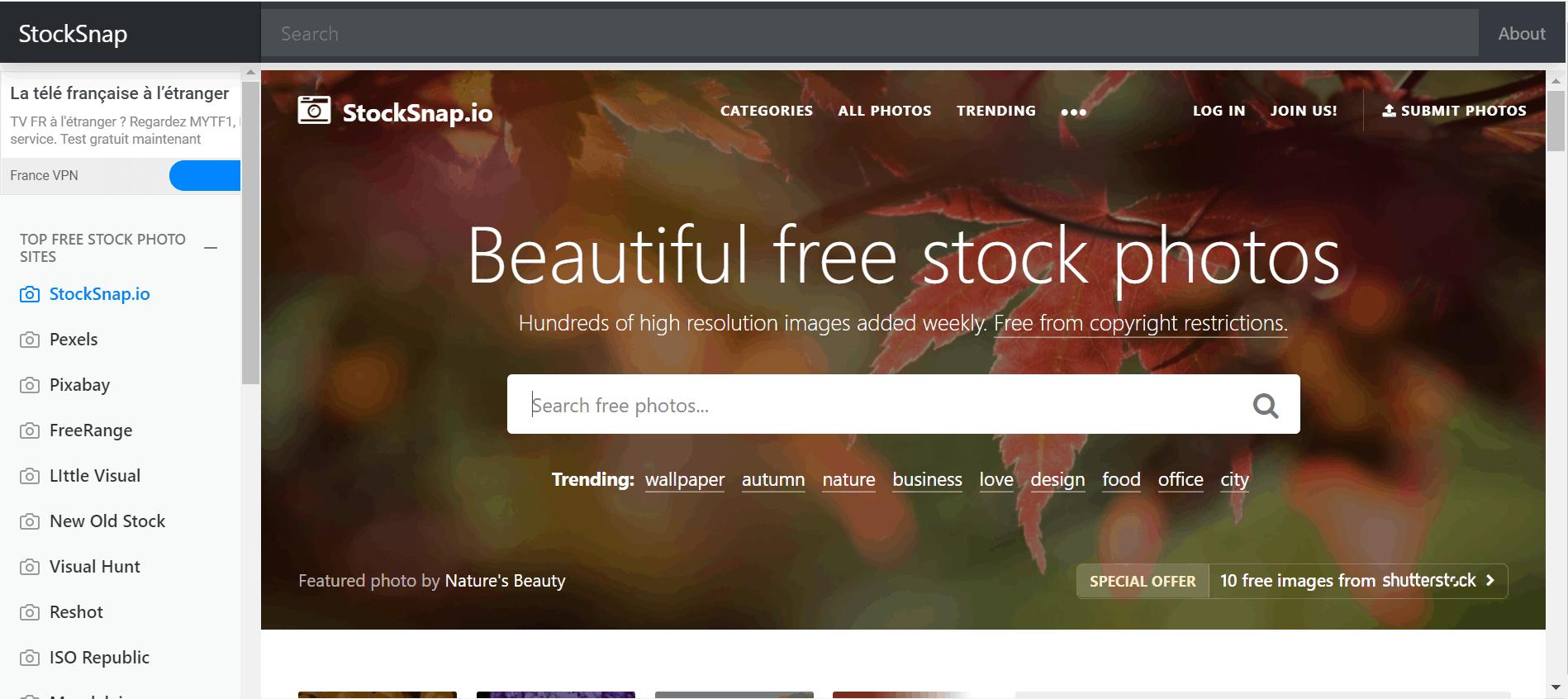 Top 20 des sites pour trouver des images libres de droit 92